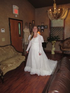 Wedding Dress Alteration Before